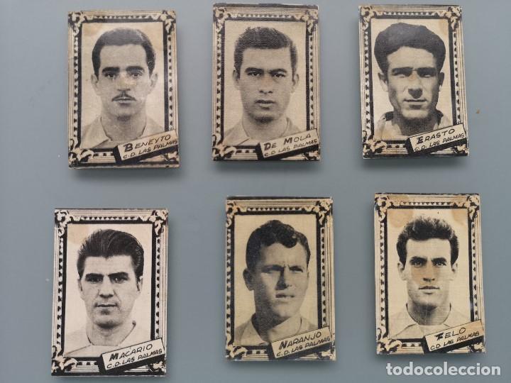 Cromos de Fútbol: DIFICIL LOTE 10 CROMOS C.D. LAS PALMAS 1959 1960 59 60 ED FHER FUTBOL LIGA GRAN CANARIA MBCONSERVAC* - Foto 3 - 202957458