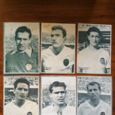 Cromos de Fútbol: VALENCIA C.F. - 10 CROMOS DIFERENTES - COLECCIÓN DICEN 1958 - 1959 - INCLUYE LISTADO. Lote 39354579