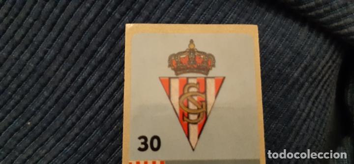 CHICLE LIGA DE LAS ESTRELLAS 97/98 PANINI NUNCA PEGADO SPORTING DE GIJÓN ESCUDO 30 (Coleccionismo Deportivo - Álbumes y Cromos de Deportes - Cromos de Fútbol)