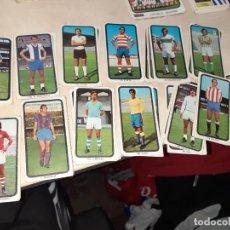 Cromos de Fútbol: LOTE DE 54 CROMOS CAMPEONATOS NACIONALES DE FÚTBOL 1974 / 1975.RUIROMER.. Lote 203285197