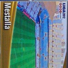 Figurine di Calcio: 56 MESTALLA ESTADIO FICHA MUNDICROMO 2011 2012 11 12. Lote 203809516