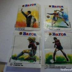 Cromos de Fútbol: MAGNIFICOS 12 CROMOS ANTIGUOS DE FUTBOL BARÇA XICLET. Lote 205086095