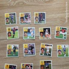 Cromos de Fútbol: LOTE 14 CROMOS DESPEGADOS 1992 1993. EDICIONES ESTE 92 93. HAY FICHAJES.. Lote 205385577