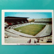Cromos de Fútbol: (SIN PEGAR) CROMO FHER LIGA 73 - 74 : VICENTE CALDERON (AT. MADRID) 1973 1974 - POSTER CENTRAL. Lote 205393130