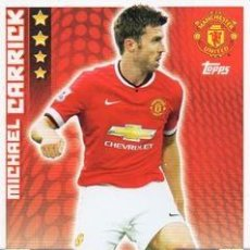 Cromos de Fútbol: 191-MICHAEL CARRICK-MANCHESTER UNITED-BASE CARD-TOPPS ENGLISH PREMIER LEAGUE 2014-2015 - MATCH ATTAX. Lote 205607171