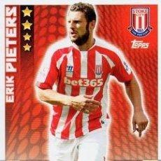 Cromos de Fútbol: 260-ERIK PIETERS-STOKE CITY-BASE CARD-TOPPS ENGLISH PREMIER LEAGUE 2014-2015 - MATCH ATTAX. Lote 205607178