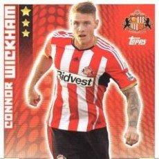 Cromos de Fútbol: 286-CONNOR WICKHAM-SUNDERLAND-BASE CARD-TOPPS ENGLISH PREMIER LEAGUE 2014-2015 - MATCH ATTAX. Lote 205607190