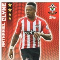 Cromos de Fútbol: 237-NATHANIEL CLYNE-SOUTHAMPTON-BASE CARD-TOPPS ENGLISH PREMIER LEAGUE 2014-2015 - MATCH ATTAX. Lote 205607203