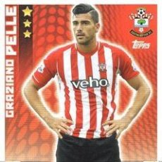 Cromos de Fútbol: 250-GRAZIANO PELLÈ-SOUTHAMPTON-BASE CARD-TOPPS ENGLISH PREMIER LEAGUE 2014-2015 - MATCH ATTAX. Lote 205607206