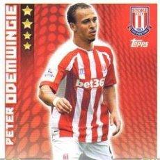 Cromos de Fútbol: 267-PETER ODEMWINGIE-STOKE CITY-BASE CARD-TOPPS ENGLISH PREMIER LEAGUE 2014-2015 - MATCH ATTAX. Lote 205607208