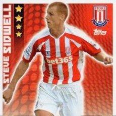 Cromos de Fútbol: 263-STEVE SIDWELL-STOKE CITY-BASE CARD-TOPPS ENGLISH PREMIER LEAGUE 2014-2015 - MATCH ATTAX. Lote 205607217