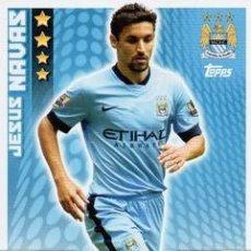 Cromos de Fútbol: 175-JESÚS NAVAS-MANCHESTER CITY-BASE CARD-TOPPS ENGLISH PREMIER LEAGUE 2014-2015 - MATCH ATTAX. Lote 205607242