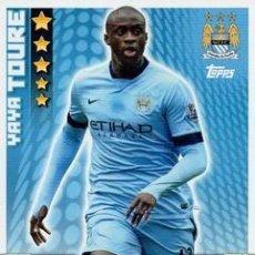 Cromos de Fútbol: 173-YAYA TOURÉ-MANCHESTER CITY-BASE CARD-TOPPS ENGLISH PREMIER LEAGUE 2014-2015 - MATCH ATTAX. Lote 205607272