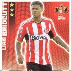 Cromos de Fútbol: 282-LIAM BRIDCUTT-SUNDERLAND-BASE CARD-TOPPS ENGLISH PREMIER LEAGUE 2014-2015 - MATCH ATTAX. Lote 205607280