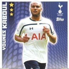 Cromos de Fútbol: 309-YOUNES KABUL-TOTTENHAM HOTSPUR-BASE CARD-TOPPS ENGLISH PREMIER LEAGUE 2014-2015 - MATCH ATTAX. Lote 205607290