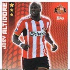 Cromos de Fútbol: 288-JOZY ALTIDORE-SUNDERLAND-BASE CARD-TOPPS ENGLISH PREMIER LEAGUE 2014-2015 - MATCH ATTAX. Lote 205607291