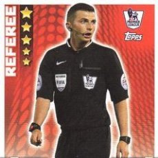 Cromos de Fútbol: T1-REFEREE MICHAEL OLIVER-TACTIC CARDS-BASE CARD-TOPPS ENGLISH PREMIER LEAGUE 2014-2015 - MATCH ATTA. Lote 205607301