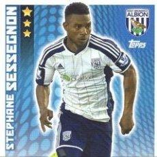 Cromos de Fútbol: 338-STEPHANE SESSEGNON-WEST BROMWICH ALBION-BASE CARD-TOPPS ENGLISH PREMIER LEAGUE 2014-2015 - MATCH. Lote 205607316