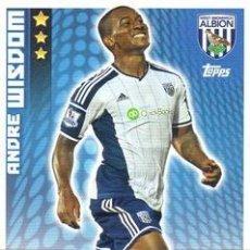 Cromos de Fútbol: 331-ANDRE WISDOM-WEST BROMWICH ALBION-BASE CARD-TOPPS ENGLISH PREMIER LEAGUE 2014-2015 - MATCH ATTAX. Lote 205607351
