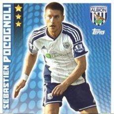 Cromos de Fútbol: 332-SEBASTIEN POCOGNOLI-WEST BROMWICH ALBION-BASE CARD-TOPPS ENGLISH PREMIER LEAGUE 2014-2015 - MATC. Lote 205607383