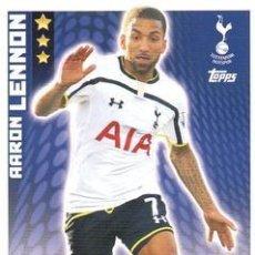 Cromos de Fútbol: 317-AARON LENNON-TOTTENHAM HOTSPUR-BASE CARD-TOPPS ENGLISH PREMIER LEAGUE 2014-2015 - MATCH ATTAX. Lote 205607393