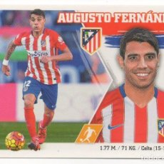 Cromos de Fútbol: ESTE 15-16 AUGUSTO FERNÁNDEZ, MERCADO DE INVIERNO MÁS AMPLIACIÓN NÚMERO 3. NUNCA PEGADO.. Lote 205607430