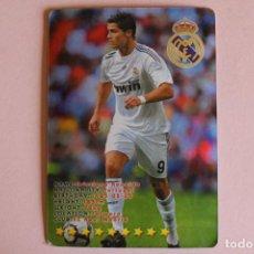 Cromos de Fútbol: CROMO CARD DE FÚTBOL CRISTIANO RONALDO DEL REAL MADRID C.F. DE TOP OF THE LEAGUE. Lote 205608930