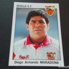Cromos de Fútbol: PANINI ESTRELLAS DE LA LIGA 93-94 MARADONA SEVILLA Nº255 NUEVO SIN PEGAR. Lote 205612373