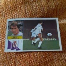 Cromos de Fútbol: EDICIONES ESTE 82 83 REAL MADRID ISIDRO. Lote 205614398