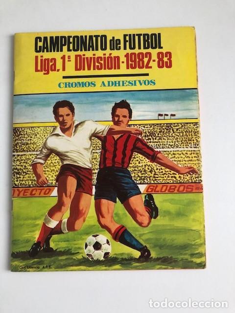 ALBUM MATEO MIRETE 1982 1983 82 83 CAMPEONATO DE LIGA PRIMERA DIVISION COMPLETO A FALTA DE PEÑIN C1 (Coleccionismo Deportivo - Álbumes y Cromos de Deportes - Cromos de Fútbol)