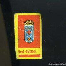 Cromos de Fútbol: CAMPEONES 1961. BRUGUERA. REAL OVIEDO (ESCUDO DEL EQUIPO). Lote 205825438