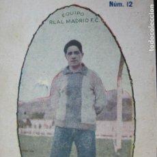 Cromos de Fútbol: MARTINEZ-REAL MADRID-CROMO DE FUTBOL-PUBLICIDAD SASTRERIA CASA PUJOL-VER FOTOS-(70.653). Lote 205835196