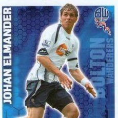 Cromos de Fútbol: 86-JOHAN ELMANDER-BOLTON-BASE SET-TOPPS ENGLISH PREMIER LEAGUE 2009-2010 - MATCH ATTAX. Lote 205869558