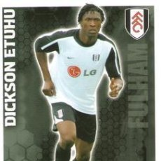 Cromos de Fútbol: 153-DICKSON ETUHU-FULHAM-BASE SET-TOPPS ENGLISH PREMIER LEAGUE 2009-2010 - MATCH ATTAX. Lote 205869562