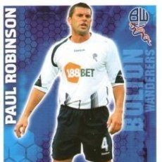 Cromos de Fútbol: 77-PAUL ROBINSON-BOLTON-BASE SET-TOPPS ENGLISH PREMIER LEAGUE 2009-2010 - MATCH ATTAX. Lote 205869567