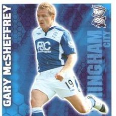 Cromos de Fútbol: 44-GARY MCSHEFFREY-BIRMINGHAM-BASE SET-TOPPS ENGLISH PREMIER LEAGUE 2009-2010 - MATCH ATTAX. Lote 205869568