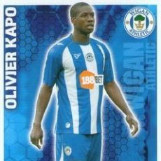 Cromos de Fútbol: 337-OLIVIER KAPO-WIGAN-BASE SET-TOPPS ENGLISH PREMIER LEAGUE 2009-2010 - MATCH ATTAX. Lote 205869571