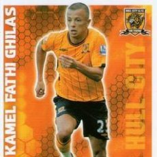 Cromos de Fútbol: 172-KAMEL FATHI GHILAS-HULL-BASE SET-TOPPS ENGLISH PREMIER LEAGUE 2009-2010 - MATCH ATTAX. Lote 205869575