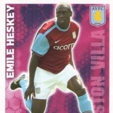 Cromos de Fútbol: 32-EMILE HESKEY-ASTON VILLA-BASE SET-TOPPS ENGLISH PREMIER LEAGUE 2009-2010 - MATCH ATTAX. Lote 205869578