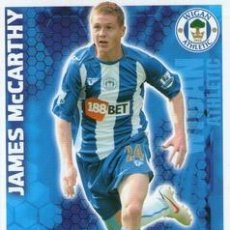 Cromos de Fútbol: 336-JAMES MCCARTHY-WIGAN-BASE SET-TOPPS ENGLISH PREMIER LEAGUE 2009-2010 - MATCH ATTAX. Lote 205869595
