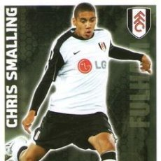 Cromos de Fútbol: 150-CHRIS SMALLING-FULHAM-BASE SET-TOPPS ENGLISH PREMIER LEAGUE 2009-2010 - MATCH ATTAX. Lote 205869600