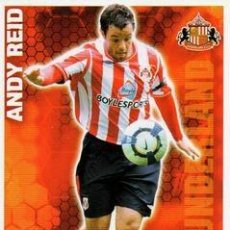 Cromos de Fútbol: 279-ANDY REID-SUNDERLAND-BASE SET-TOPPS ENGLISH PREMIER LEAGUE 2009-2010 - MATCH ATTAX. Lote 205869601