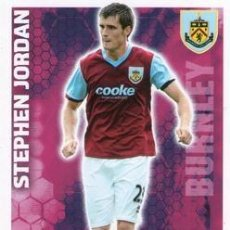 Cromos de Fútbol: 96-STEPHEN JORDAN-BURNLEY-BASE SET-TOPPS ENGLISH PREMIER LEAGUE 2009-2010 - MATCH ATTAX. Lote 205869607