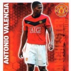 Cromos de Fútbol: 226-ANTONIO VALENCIA-MANCHESTER UNITED-BASE SET-TOPPS ENGLISH PREMIER LEAGUE 2009-2010 - MATCH ATTAX. Lote 205869610