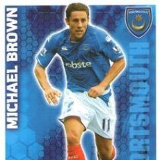 Cromos de Fútbol: 245-MICHAEL BROWN-PORTSMOUTH-BASE SET-TOPPS ENGLISH PREMIER LEAGUE 2009-2010 - MATCH ATTAX. Lote 205869615