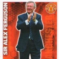 Cromos de Fútbol: 433-SIR ALEX FERGUSON-MANCHESTER UNITED-MANAGERS-TOPPS ENGLISH PREMIER LEAGUE 2009-2010 - MATCH ATTA. Lote 205869625