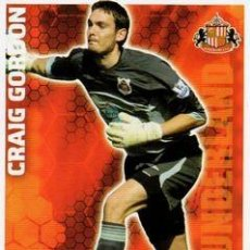 Cromos de Fútbol: 271-CRAIG GORDON-SUNDERLAND-BASE SET-TOPPS ENGLISH PREMIER LEAGUE 2009-2010 - MATCH ATTAX. Lote 205869635