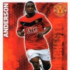 Cromos de Fútbol: 223-ANDERSON-MANCHESTER UNITED-BASE SET-TOPPS ENGLISH PREMIER LEAGUE 2009-2010 - MATCH ATTAX. Lote 205869640