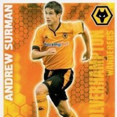 Cromos de Fútbol: 352-ANDREW SURMAN-WOLVERHAMPTON-BASE SET-TOPPS ENGLISH PREMIER LEAGUE 2009-2010 - MATCH ATTAX. Lote 205869655