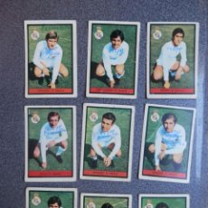Cromos de Fútbol: REAL MADRID, 41 CROMOS JUGADORES TEMPORADAS 1970 - 1971 - 1972 DETERIORADOS. Lote 206140826